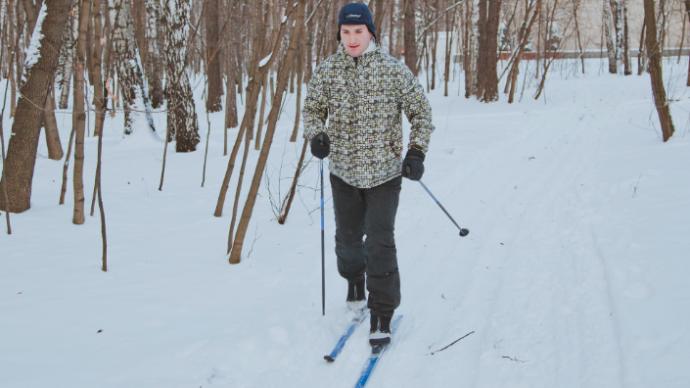 В Подмосковье открылась лыжная трасса с искусственным снегом