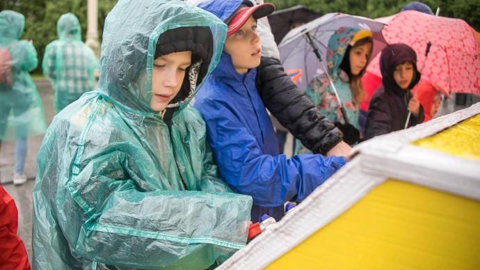 Выпадение месячной нормы осадков обещают в Москве на этой неделе