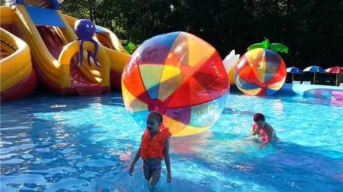 В Измайловском парке заработал детский бассейн