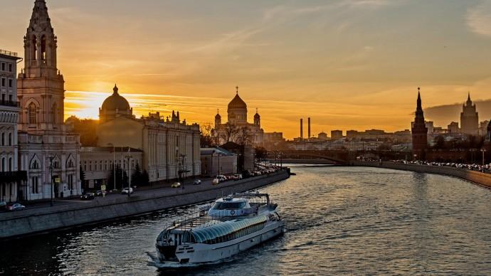 Речной трамвай появится в Москве в 2021 году