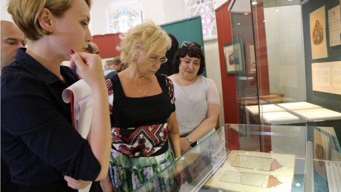 В Казанском Кремле проходит выставка народов России и Османской империей