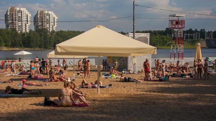 Названы пять лучших пляжей Подмосковья