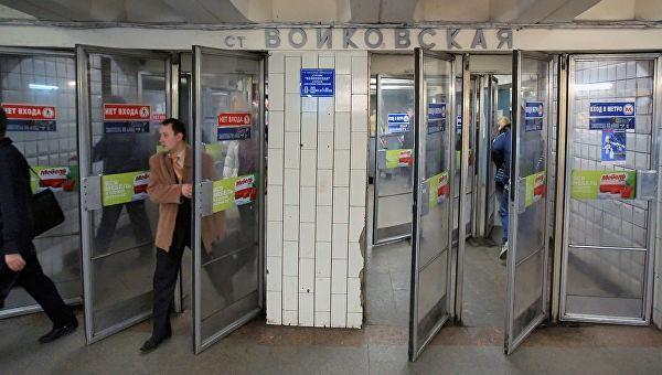 До конца апреля со станций московского метро уберут вторые двери