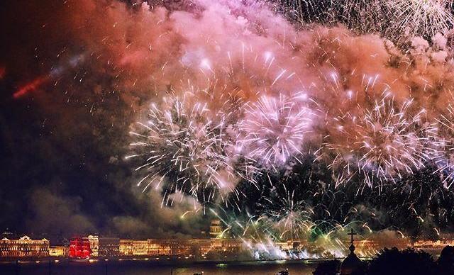 «Алые паруса» посетили почти полтора миллиона человек