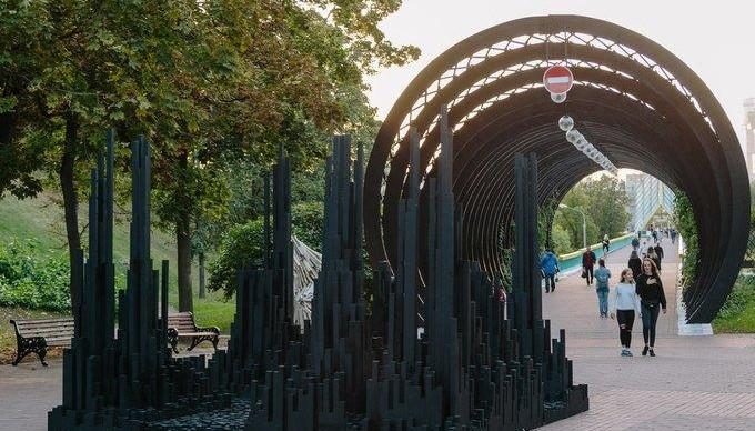 В Парке Горького вырос «Черный лес»