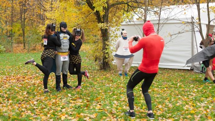 Супергерои пробегут в парке «Сокольники»