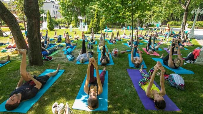 В Алматы пройдут бесплатные тренировки на открытом воздухе