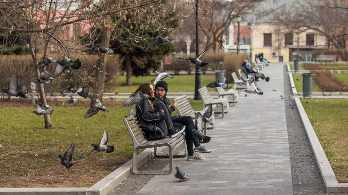 Неделя в Москве выдастся теплой, но с осадками