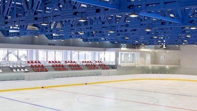 Открытие крытого катка в Олимпийской деревне планируется в 2019 году