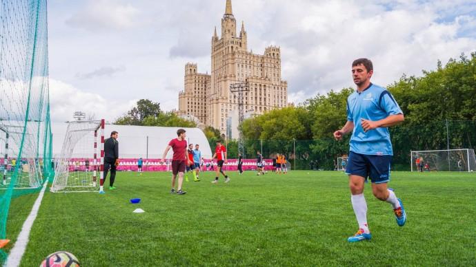 В парке «Красная Пресня» разыграют кубок по футболу