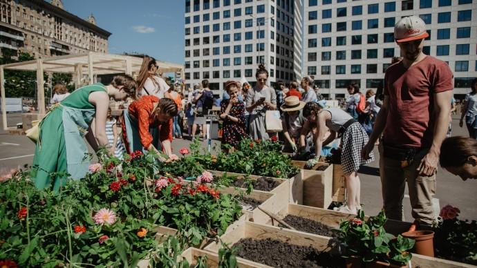 В районных центрах «Место встречи» пройдет весенний фестиваль «Дизайн-Субботник»