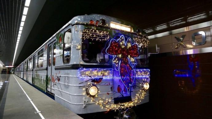 В Новый год в Москве будет круглосуточно работать метро