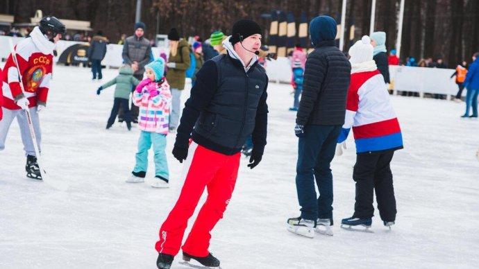 День зимних видов спорта в «Сокольниках» отметят вместе со «Спартаком»
