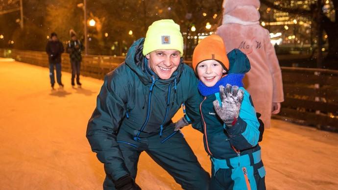 В Минске откроют 30 катков
