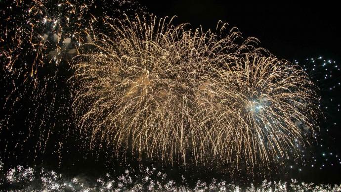 В эти выходные в Москве пройдет большой фестиваль фейерверков