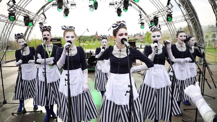 Концерт Spokane's girls. Фестиваль «Город Джаз» в «Аптекарском огороде»