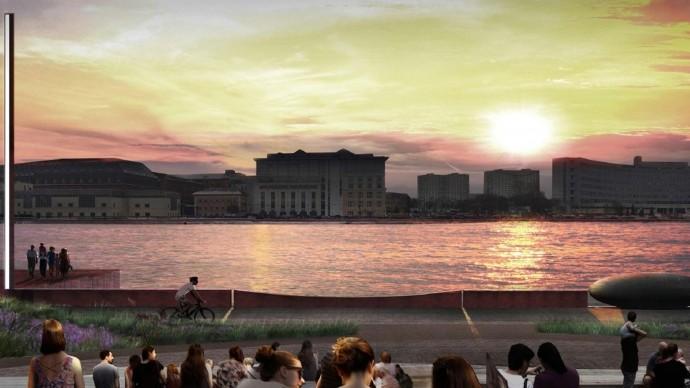 В сентябре в Москве откроется набережная Марка Шагала