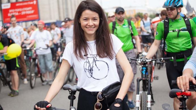 Осенний велофестиваль в Москве