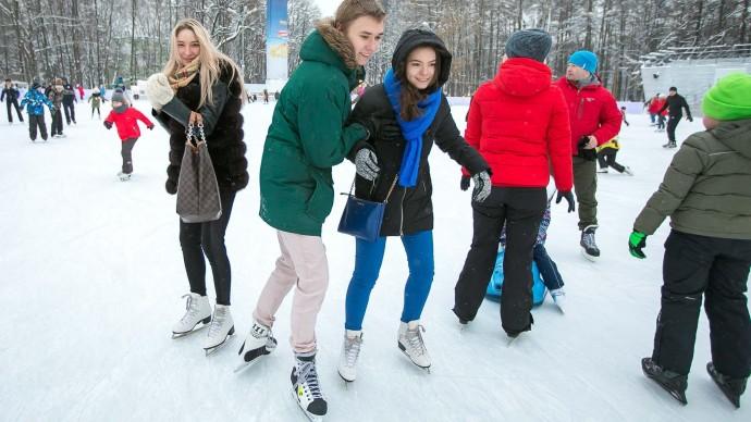 В Екатеринбурге стала известна дата открытия катка в парке Маяковского