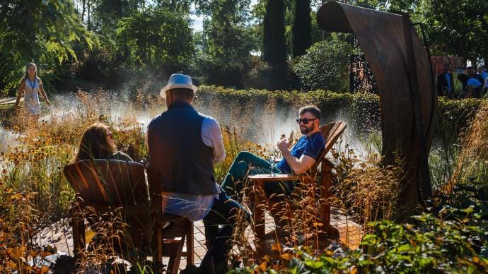 На ВДНХ представят дизайнерские сады