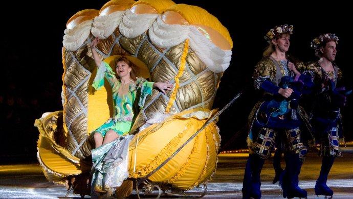 Открытие катка в Саду «Эрмитаж» отметят спектаклем на льду