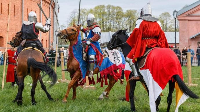 Рыцарский турнир пройдет в Артиллерийском музее