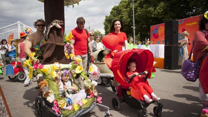 В Парке Горького состоится инклюзивный парад «Все в движении»