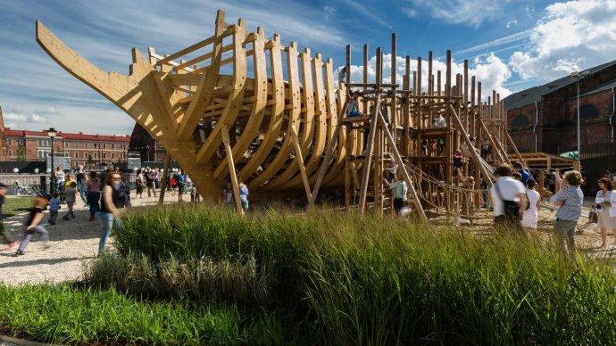 На «Новой Голландии» открылась летняя площадка «Фрегат»