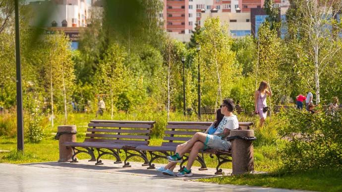Мэрия: за 2020 год парки Москвы посетили 77 млн посетителей