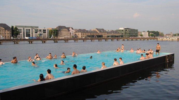 На Москве-реке собираются построить «плавающий» бассейн