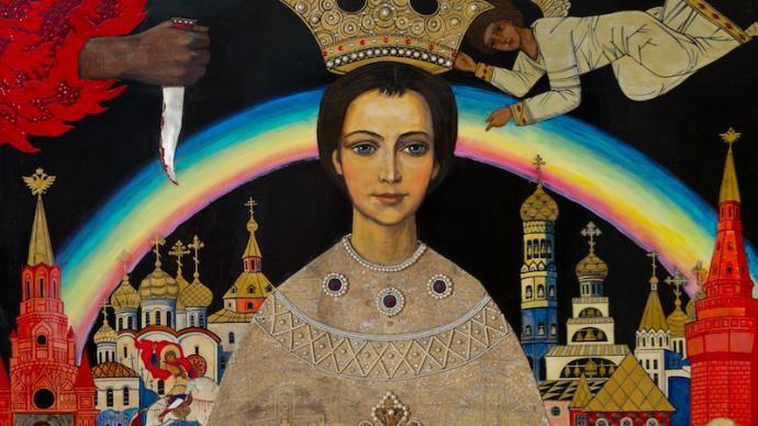 Выставка Ильи Глазунова в Подземном музее «Зарядья»