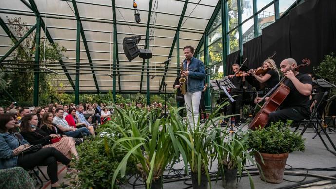 В «Аптекарском огороде» можно послушать симфонические рок-хиты и музыку из «Шерлока»