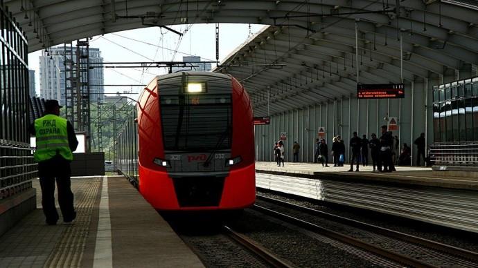 В ноябре изменится расписание московских электричек