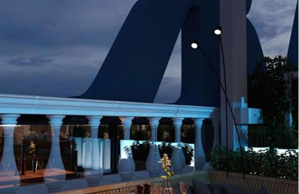 В Екатеринбурге открывается первая веранда на крыше