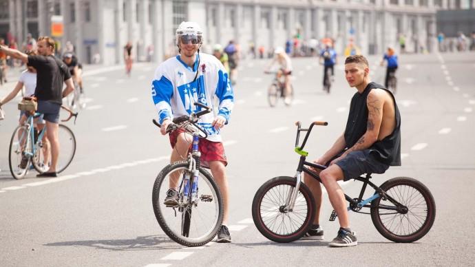 Осенний велопарад пройдет в Москве 16 сентября
