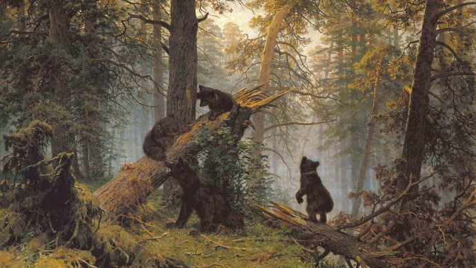Медиавыставка «Шишкин. Одинокие леса»