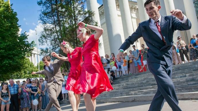 В саду «Эрмитаж» будут танцевать джаз