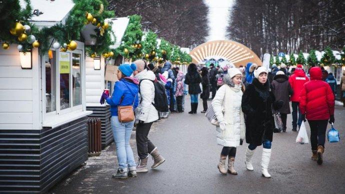 В «Сокольниках» пройдет рождественский маркет «ВкусноФест»