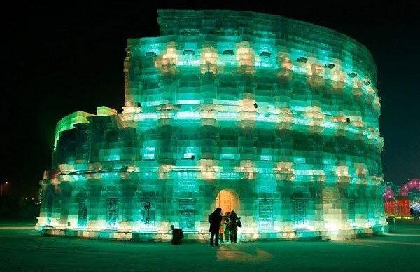 Ледяные копии мировых достопримечательностей установят в парке на Поклонной горе