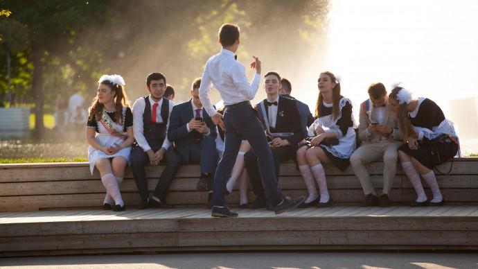24 июля в Парке Горького пройдет выпускной