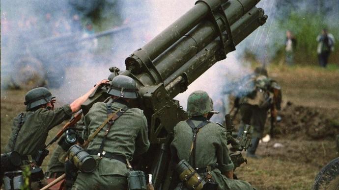 В Полежаевском парке реконструируют сражение 1945 года