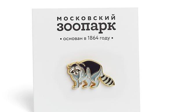Московский зоопарк выпустил новые значки с животными