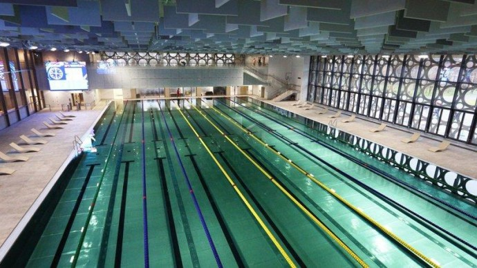 В «Лужниках» открылся Дворец водных видов спорта