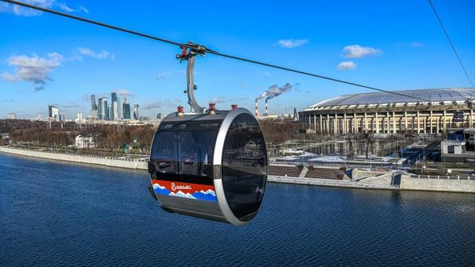 В Москве начала работу канатная дорога