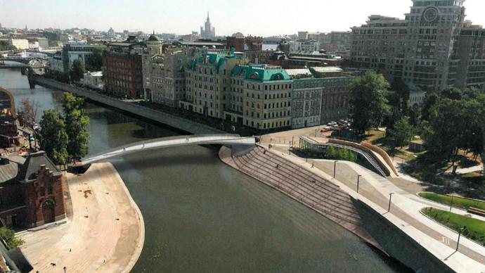 «Красный Октябрь» и «Музеон» свяжет новый пешеходный мост
