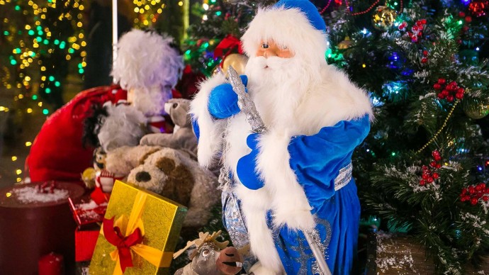 Пятачок придет в гости к Деду Морозу в парк им. Бабушкина