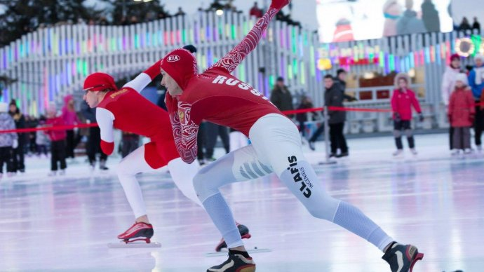 На катке ВДНХ отметят День зимних видов спорта