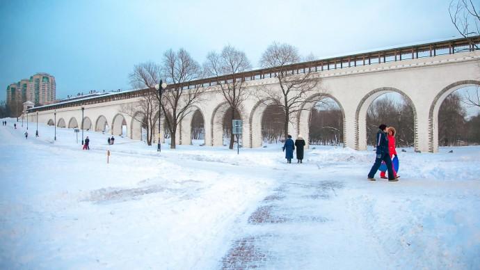 На территории парка Ростокинский акведук открыли музейный объект