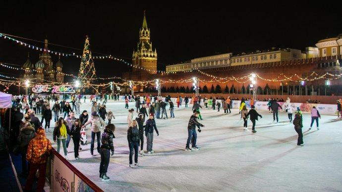 Каток на Красной площади заработает 29 ноября