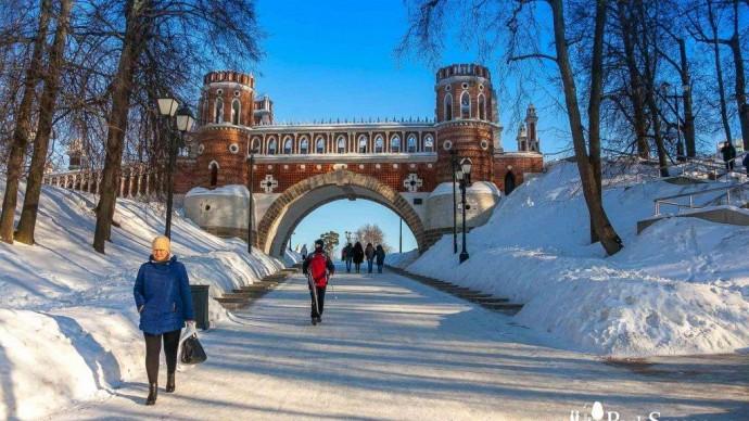 Зимняя праздничная программа «Царицыно»